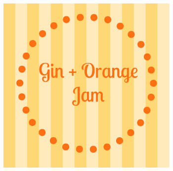 gin-and-orange-jam-label