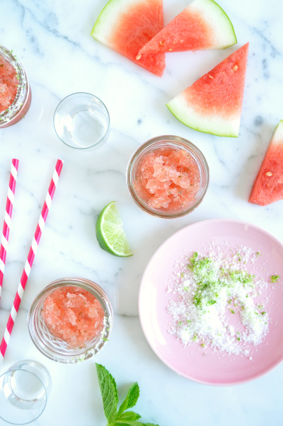 watermelon-coconut-mint-granita