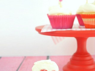 rosewater-heart-cupcake-with-coconut-frosting