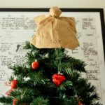 DIY Christmas tree angel